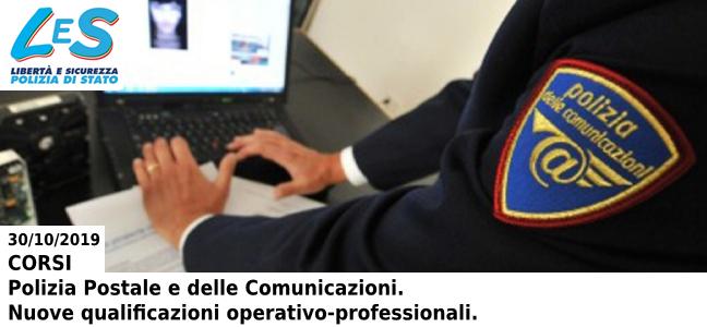 Nuove qualificazioni operativo-professionali Polizia Postale e delle Comunicazioni